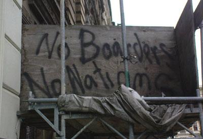 no boarders